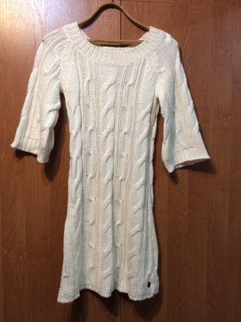 Красивое теплое платье вязаное Roxy
