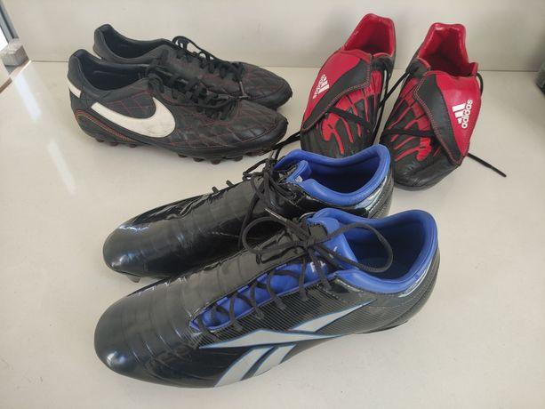 Chuteiras usadas Nike Reebok e Adidas tamanho 42