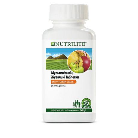 Мультивитаминные жевательные таблетки NUTRILITE