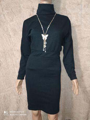 Тепле трикотажне плаття