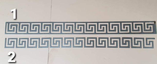 Wzór grecki, ogrodzenie, balustrada