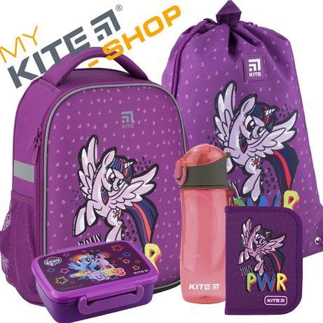 Школьный набор KITE 5 в 1 Рюкзак Сумка Пенал Бутылочка Ланчбокс Кайт