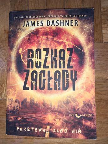 """""""Rozkaz zagłady"""" - James Dashner, książka młodzieżowa"""