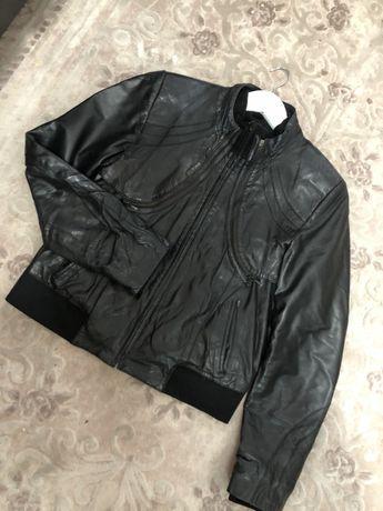 Турецкая кожаная курточка Bertini  3в1 ! Срочно!