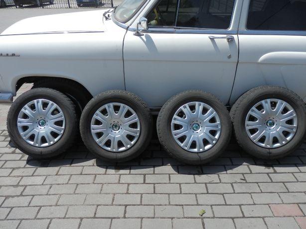 Bridgestone Blizzak 195\65R15 зима, диски разболтовка 5х112 Octavia A5