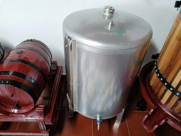 Cuba em inox 100 litros