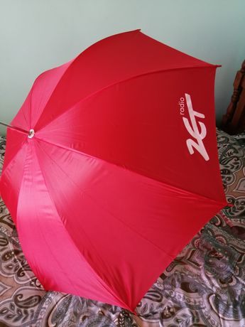 Parasol, parasolka z logo radia zet