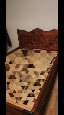 Sprzedam łóżko z materacem