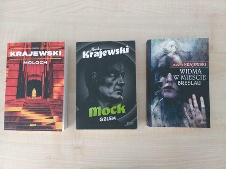 Marek Krajewski zestaw 3 szt