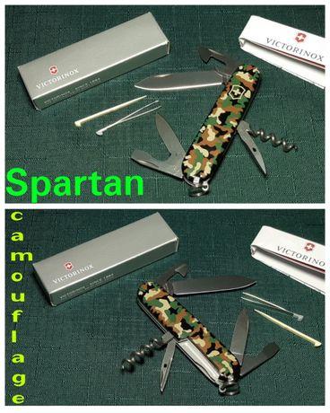 "НОВЫЙ! Нож Victorinox ""Spartan"" camouflage 91мм ОРИГИНАЛ!"