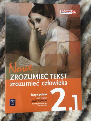 Zrozumieć tekst zrozumieć człowieka 2.1 podręcznik do języka polskiego