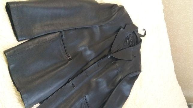 Кожаный пиджак (оч.класный)
