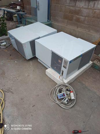 Морозильный моноблок / агрегат Zanotti. Б/у. Холодильная камера