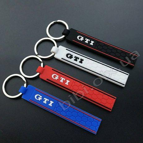 Брелок для ключей логотип Volkswagen GTi VW силикон