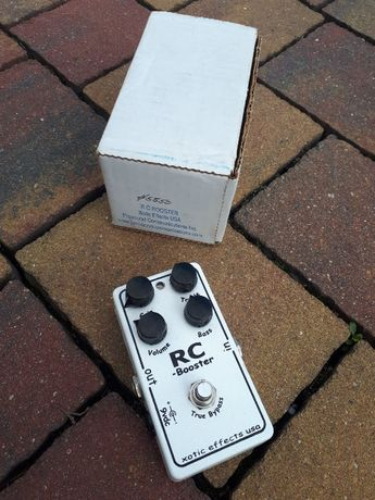 Xotic RC Booster - overdrive