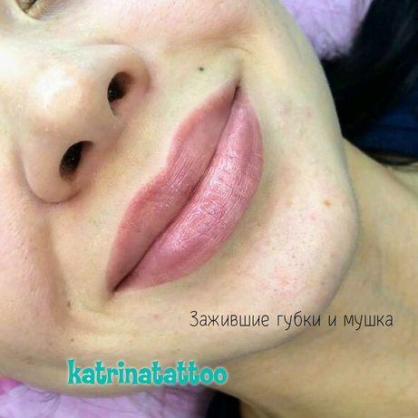 Татуаж,500грн перманентный макияж брови,губы,ареолы акция,модели