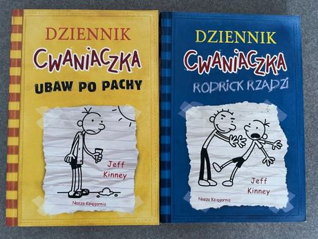 Dziennik Cwaniaczka - 2 książki ZESTAW