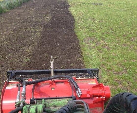 Usługi glebogryzarka spareacyjną zakładanie trawników seperacyjna