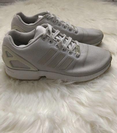 Białe Adidas ZX Flux