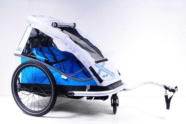 Przyczepka rowerowa dla dziecka XLC Mono - PROMOCJA -10%