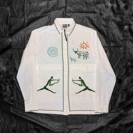 Новая рубашка Asos M versace arcteryx dickies carhartt