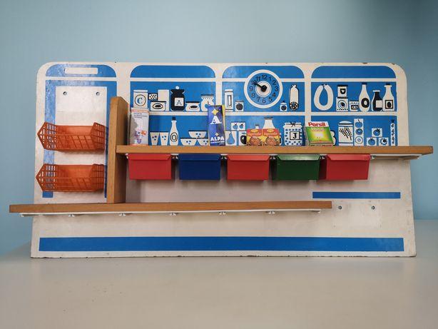 Zabawka sklep zabawa spożywczy vintage prl NRD stara