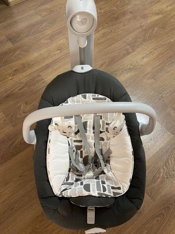 Кресло-качель Joie Serina 2 в 1 в идеальном состоянии