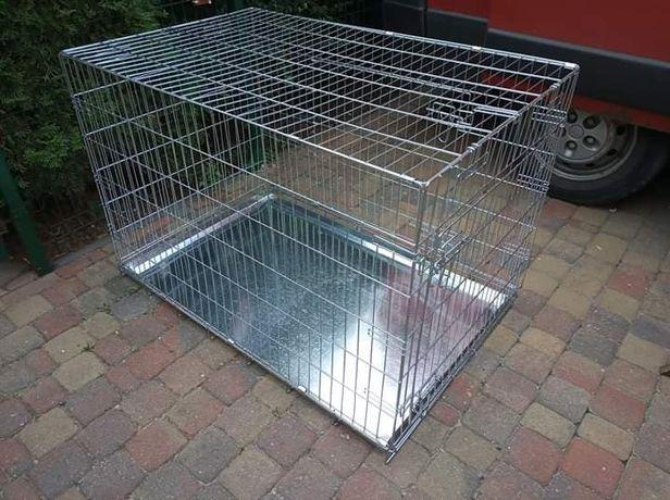 Klatka kennelowa dla psa JAK NOWA duża - 109x68x74 cm