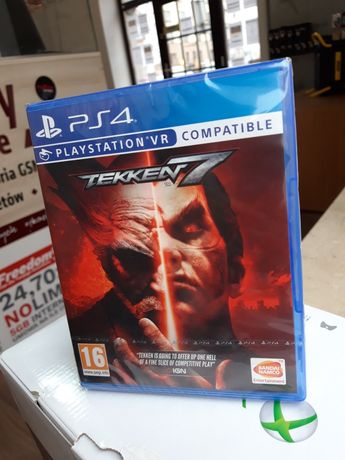 Tekken 7 na PS4 PlayStation 4 nowa zapakowana SKUP SPRZEDAŻ WYMIANA VR