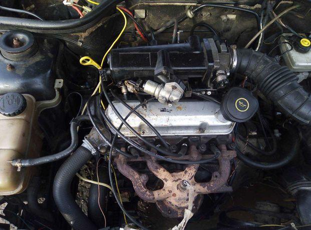 Двигатель мотор форд ескорт курьер фиеста ка 1.3 бензин 96-01 г