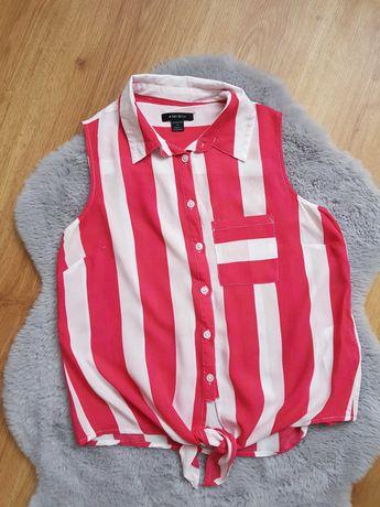 Bluzka XS S M bluzeczka letnia z supełkiem