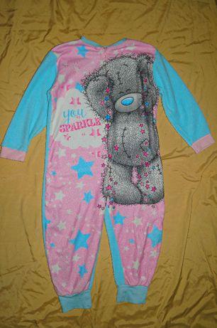 Флисовая пижама кигуруми слип человечек Disney. Разные. размер 128