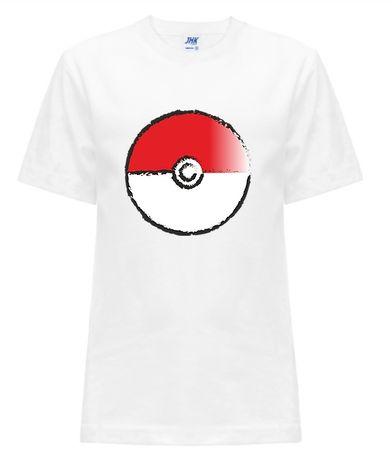 Koszulka dziecięca T-shirt Pokemon Pokeball rozmiary 104-152 Prezent