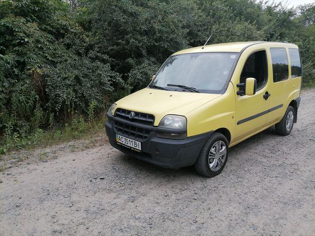 Fiat Doblo пасажир
