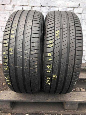 Літні шини 235/55 R17 Michelin Primacy 3 2ШТ 2019рік СТАН НОВОГО