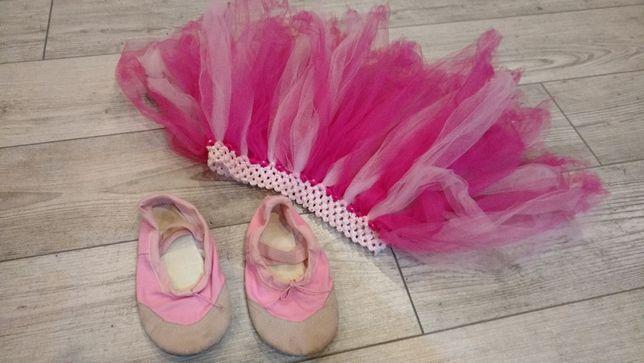 Baletki 18cm i spódniczka Tutu