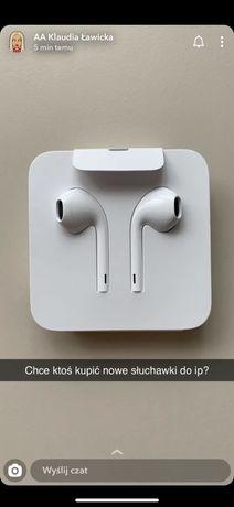 Sluchawki przewodowe do Iphone