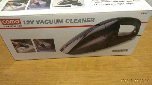 Универсальный автомобильный пылесос новый