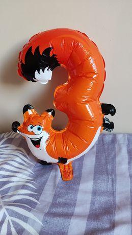 Balon cyfra 3 35 cm