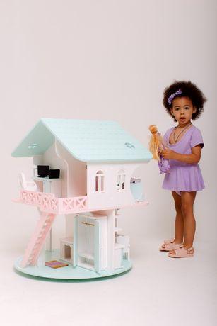 Детский кукольный домик с мебелью, лучший подарок! Звоните еще есть!