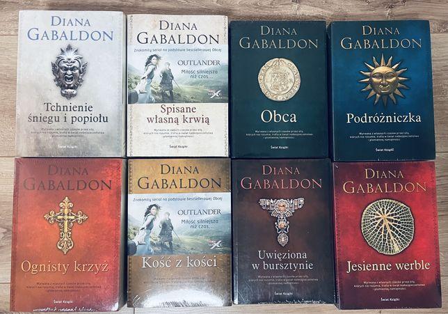 Obca Outlander Diana Gabaldon 8 części komplet nowe