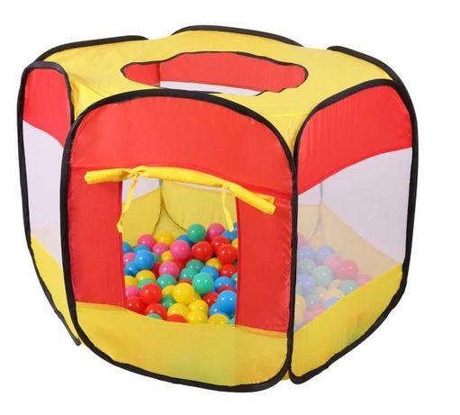 Namiot suchy basen + 100 piłeczek