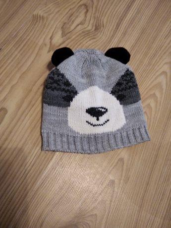 Czapka czapeczka na jesień zimę dla chłopca lub dziewczynki 80 86