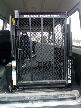 Elevador cadeira de rodas ou carga para carrinha