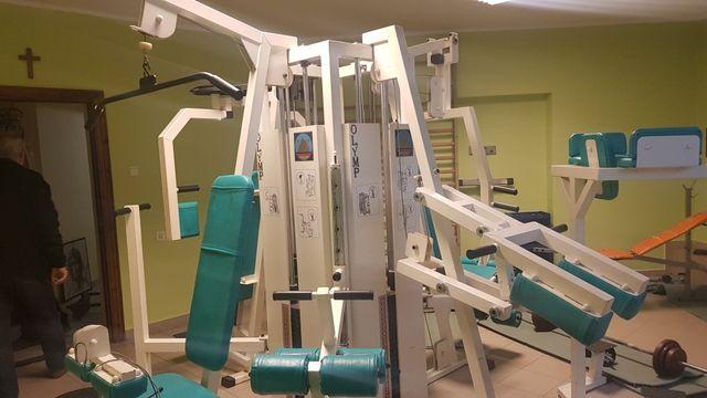 Maszyna Atlas Potega Olymp 15 stanowisk 4 stosy 450kg uzywany w domu