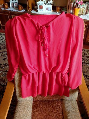 Bluzka czerwoną