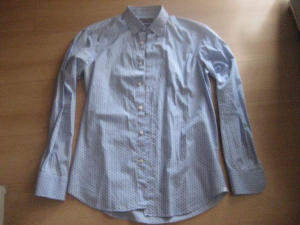 Massimo Dutti - elegancka koszula we wzorek M