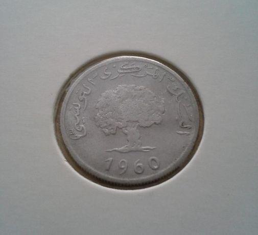 2 milimy 1960 Tunezja-rzadkość