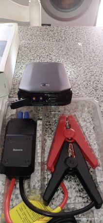 Booster Carregador de arranque de baterias portatil usb