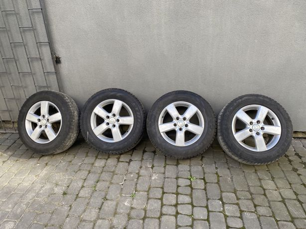 Колеса диски шини R16 215/65 Mercedes vito 639 Volkswagen Audi e-class